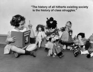 history is history of class struggles